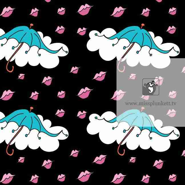 Raining Kisses by Emma Plunkett Art