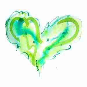 Green Heart by Emma Plunkett