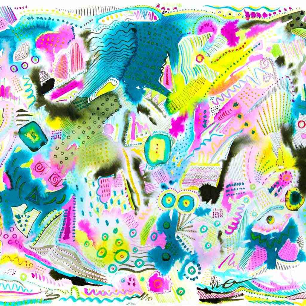 Ariel View - Emma Plunkett Art