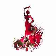 Flamenco Dancer 06 – Emma Plunkett Art watercolor