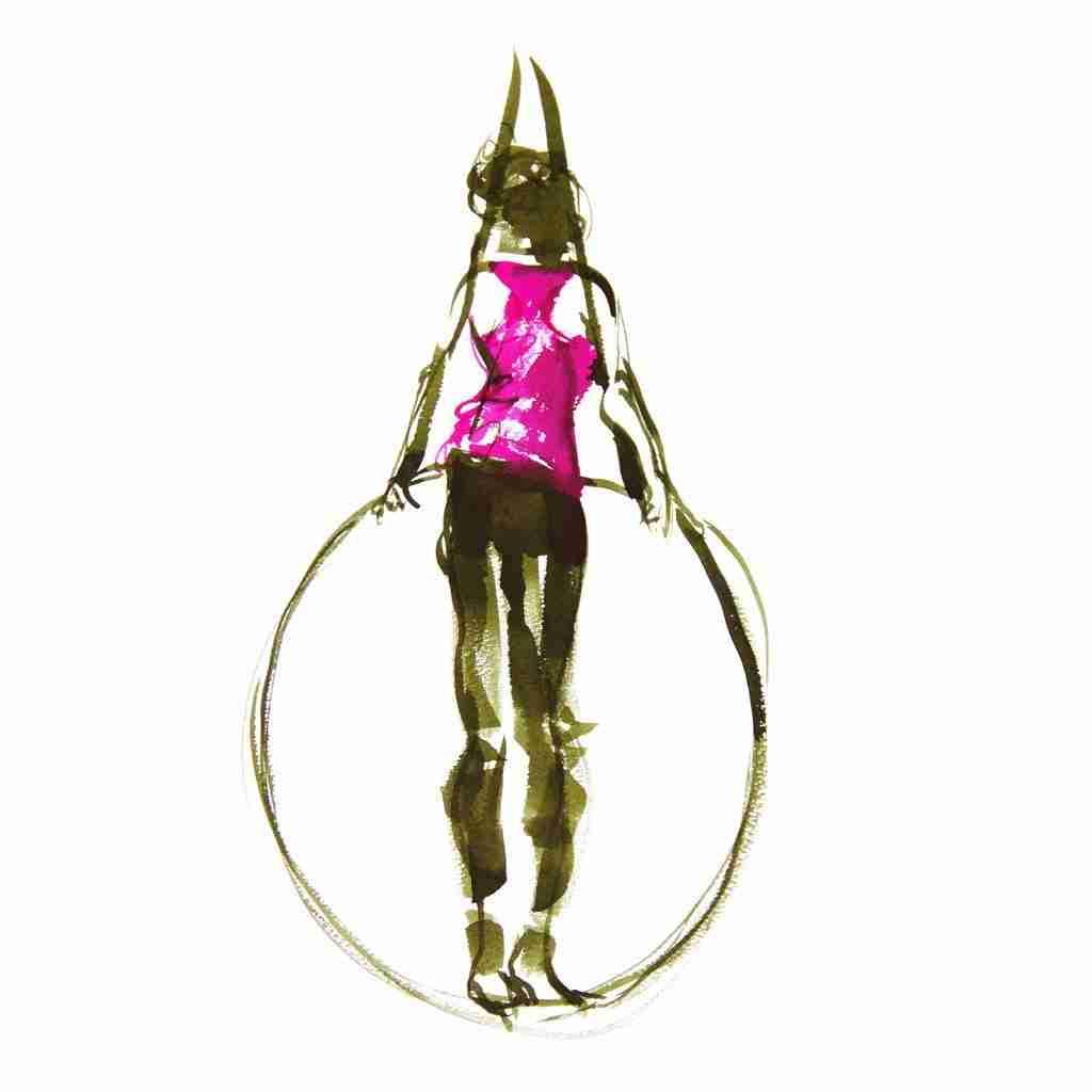 Hoop artist by Emma Plunkett Art