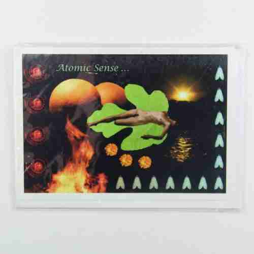 Atomic Sense Greeting Card
