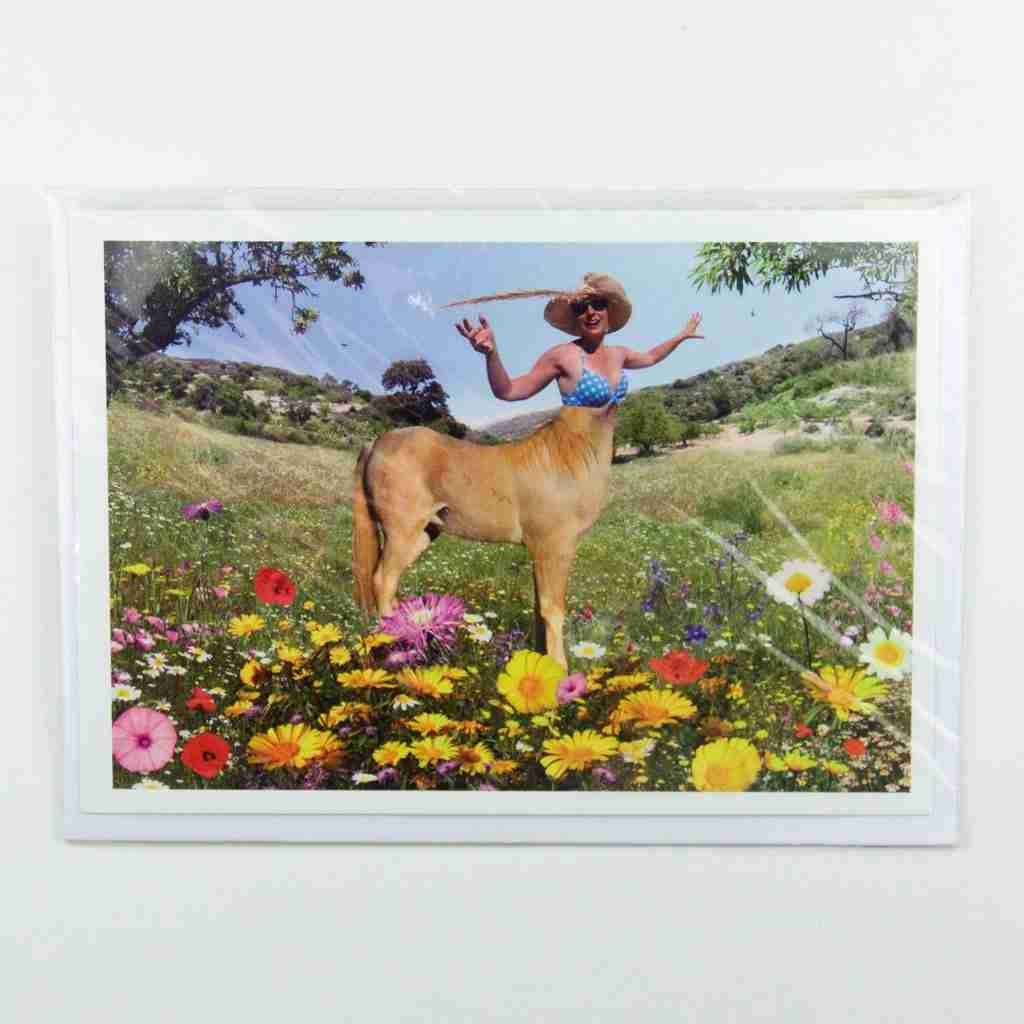 Centaur Greeting Card