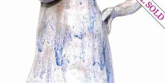 single breasted jug sculpture by Emma Plunkett art