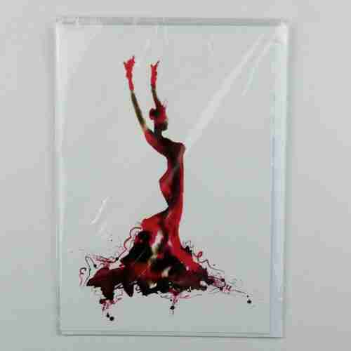 La Reina de Flamenco Greeting Card