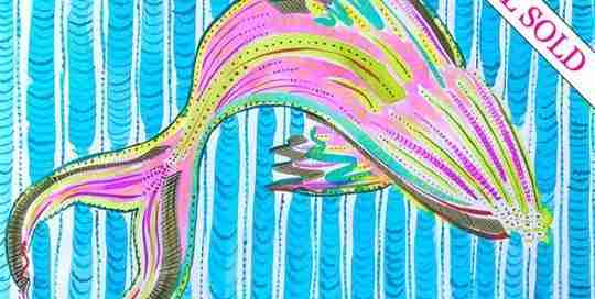watercolour whale