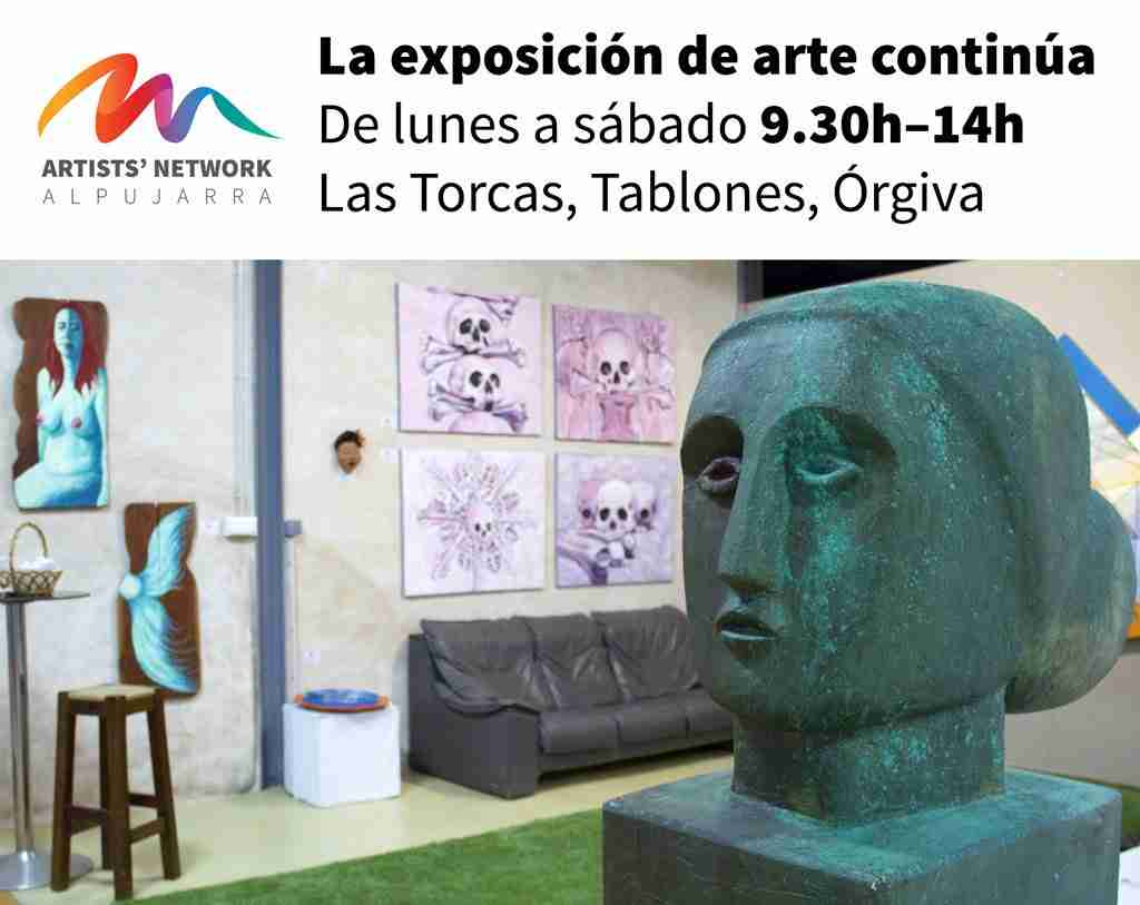 Las Torcas Orgiva, art exhibition