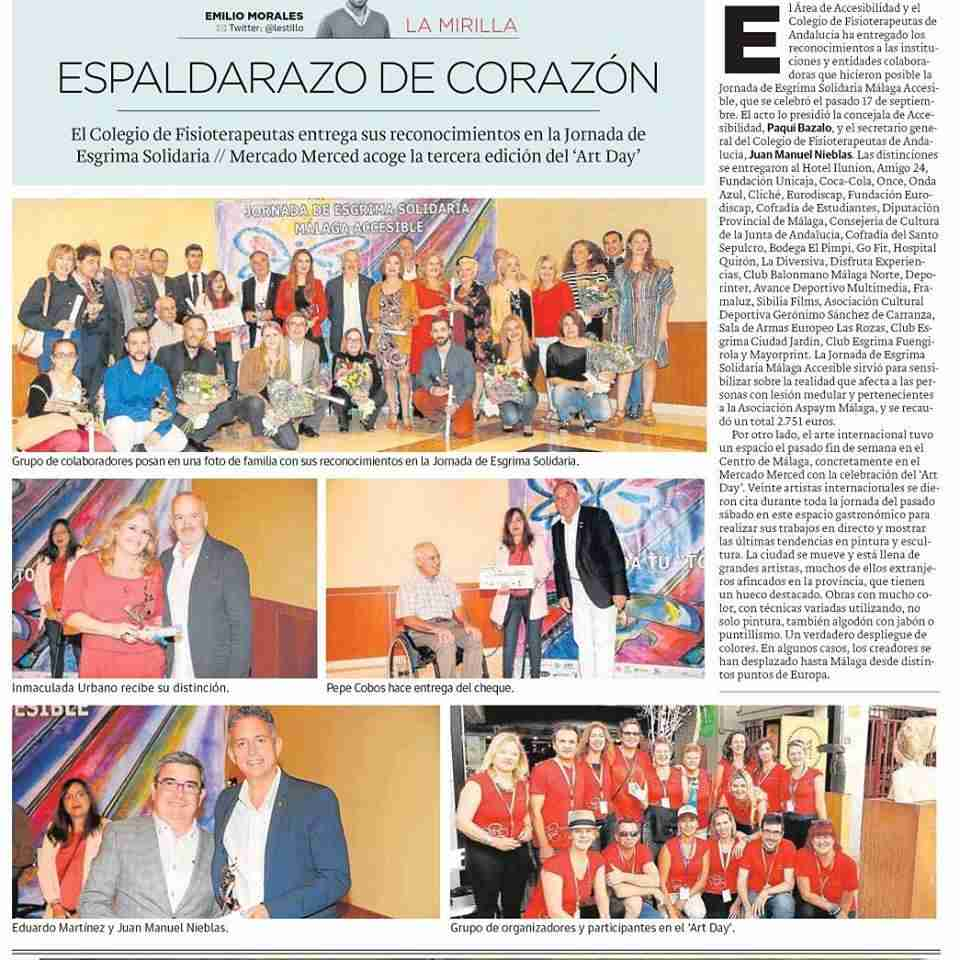 Art Day Málaga press cuttings
