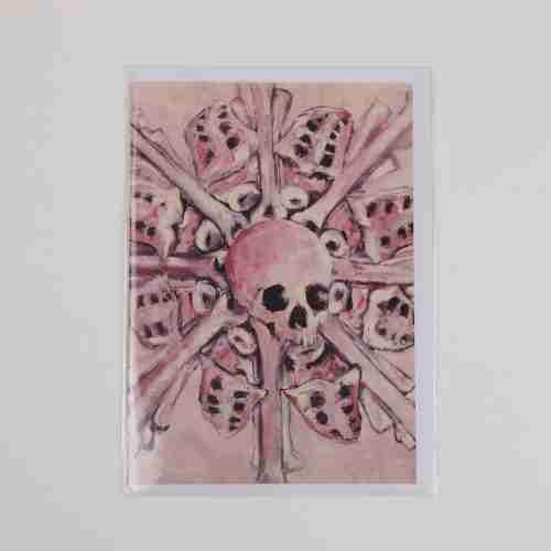 Painted Pink Skulls