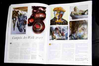 Sculpture in magazine