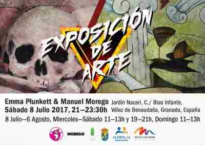 Punkett vs. Morego exhibition invite