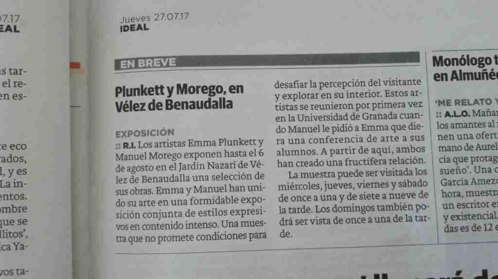 IDEAL Plunkett vs Morego