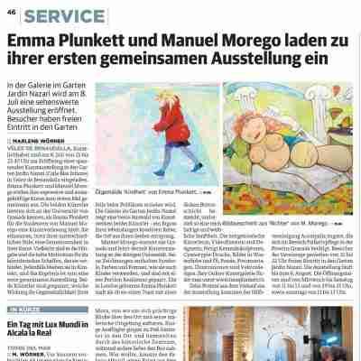 Sur in German newspaper article