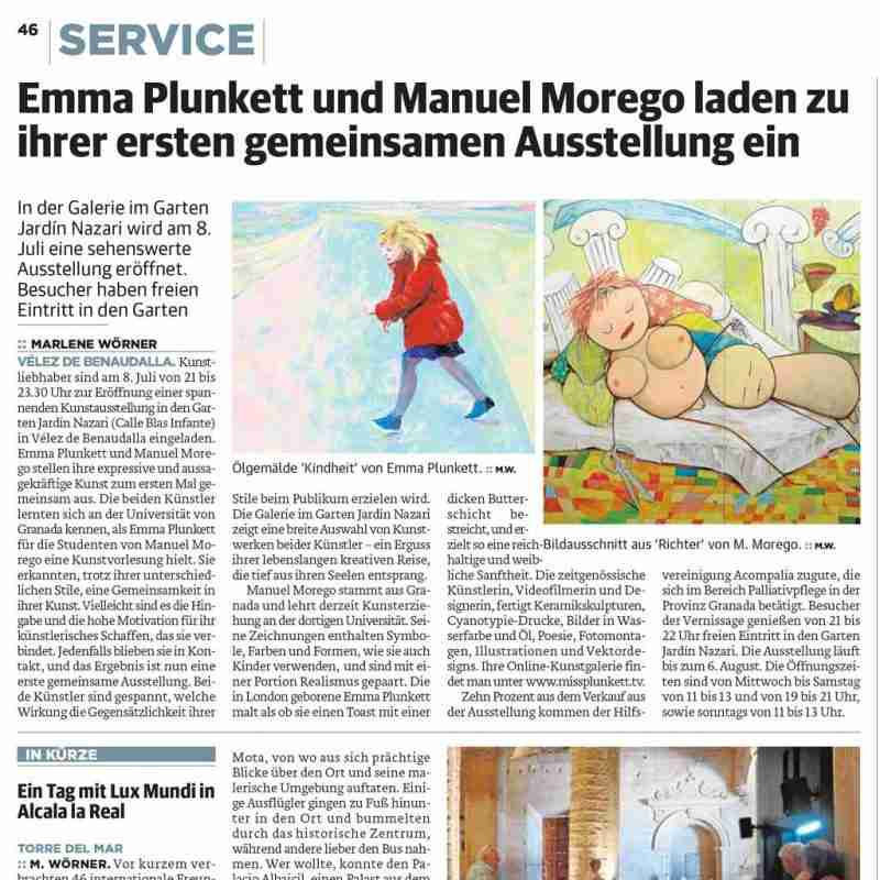 Sur in German newspaper article