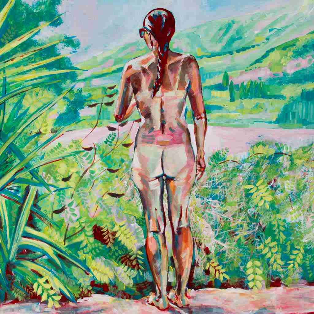 nude painting by Emma Plunkett