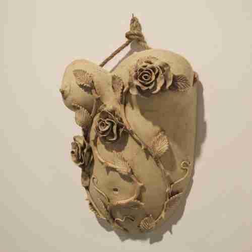 la hija del curo, stoneware planter by Emma Plunkett