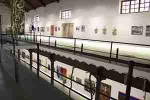 La Azucarera art expo upstairs
