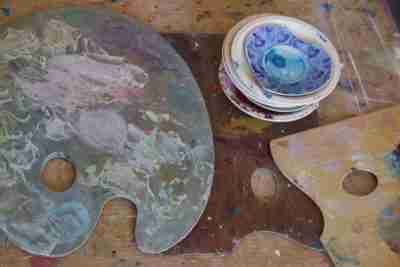 art painting palettes