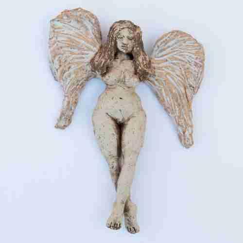 Heavenly Creature stoneware angel
