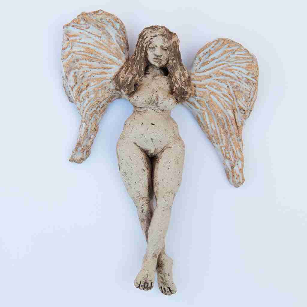 Heavenly Creature stoneware angel