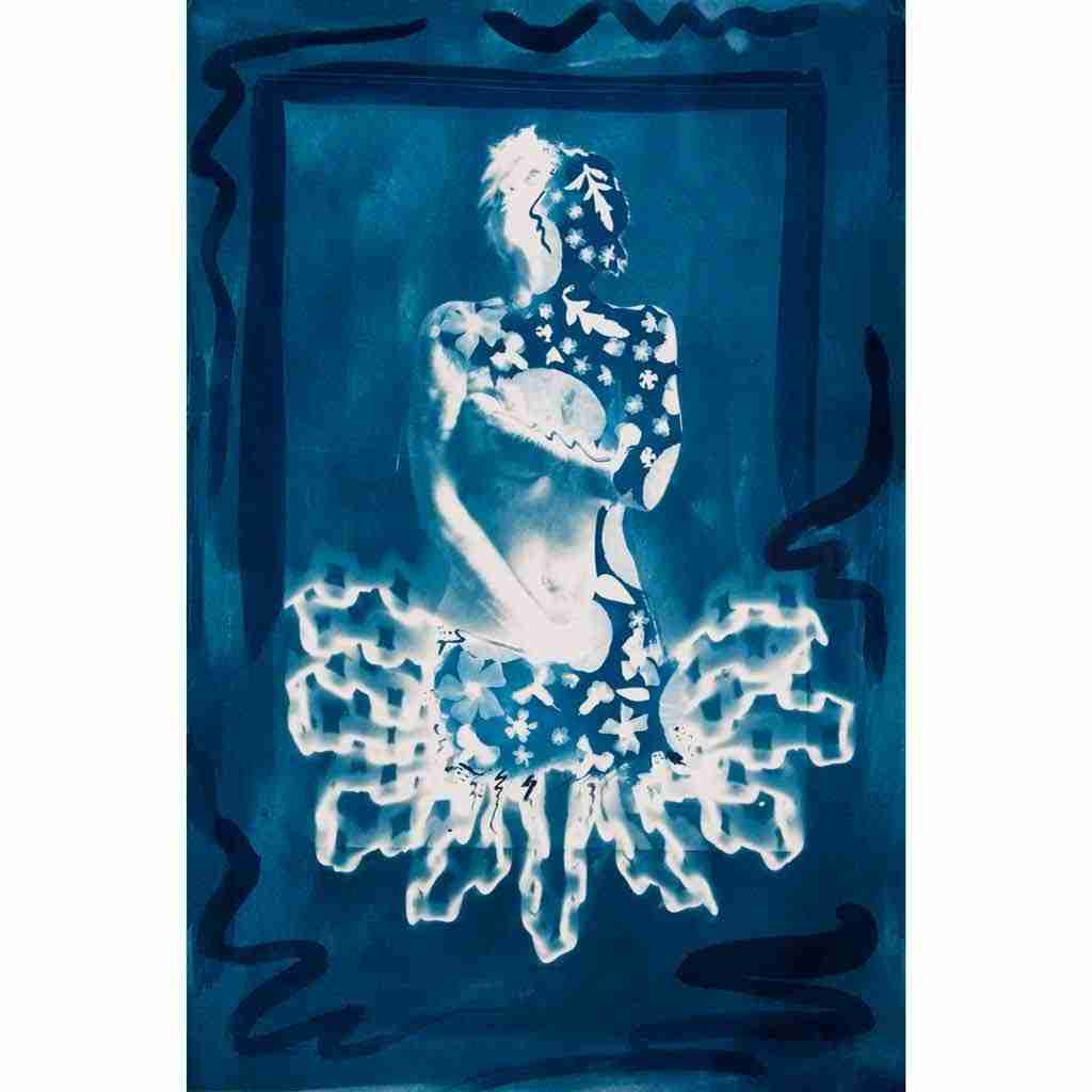 Yearning-for-springtime cyanotype print
