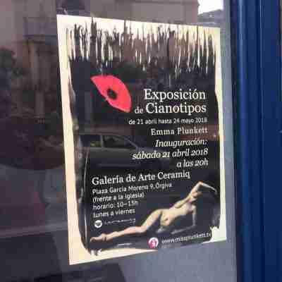 Cyanotype poster