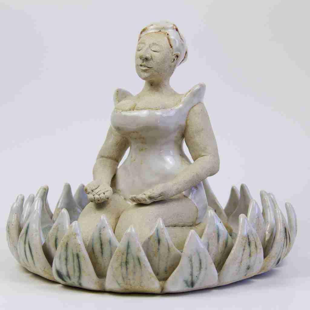 zen meditation sculpture