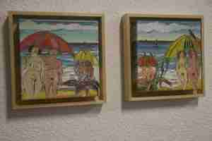 Jane Kleinschmit beach paintings