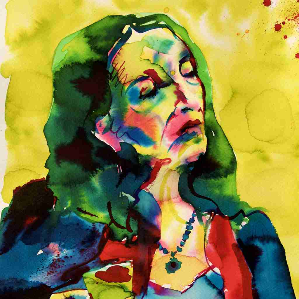 watercolour portrait lessons