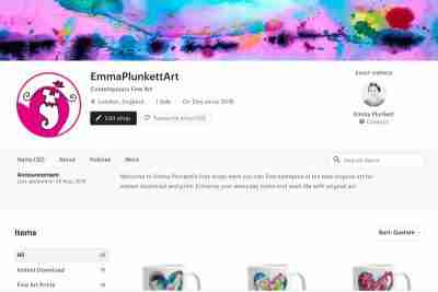 Emma Plunkett Art Etsy Shop
