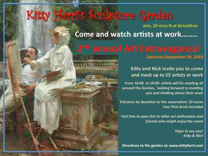Kitty Harri Sculpture Garden Art Extravaganza!