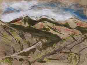 Sierra Nevada from Velez de Benaudalla