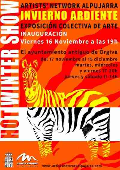Artists' Network Alpujarra art exhibition