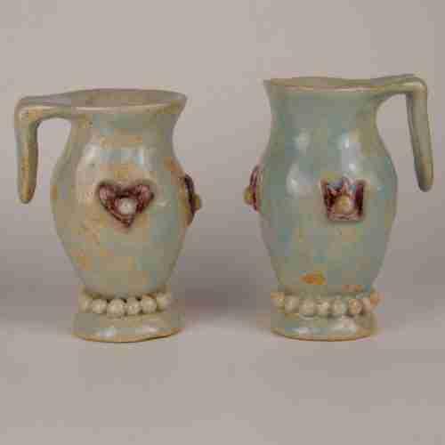 art mugs, stoneware functional art