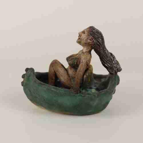 Joy - Woman in a small boat