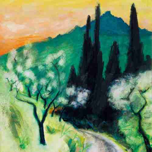 Andalusian landscape painting