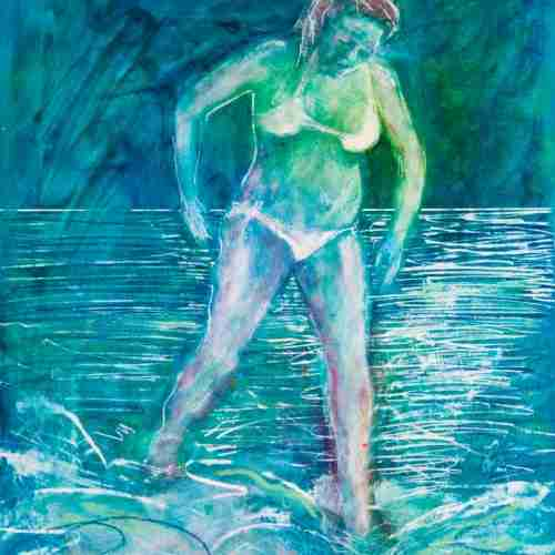 The Bather by Emma Plunkett