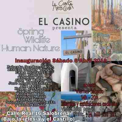 El Casino art invite