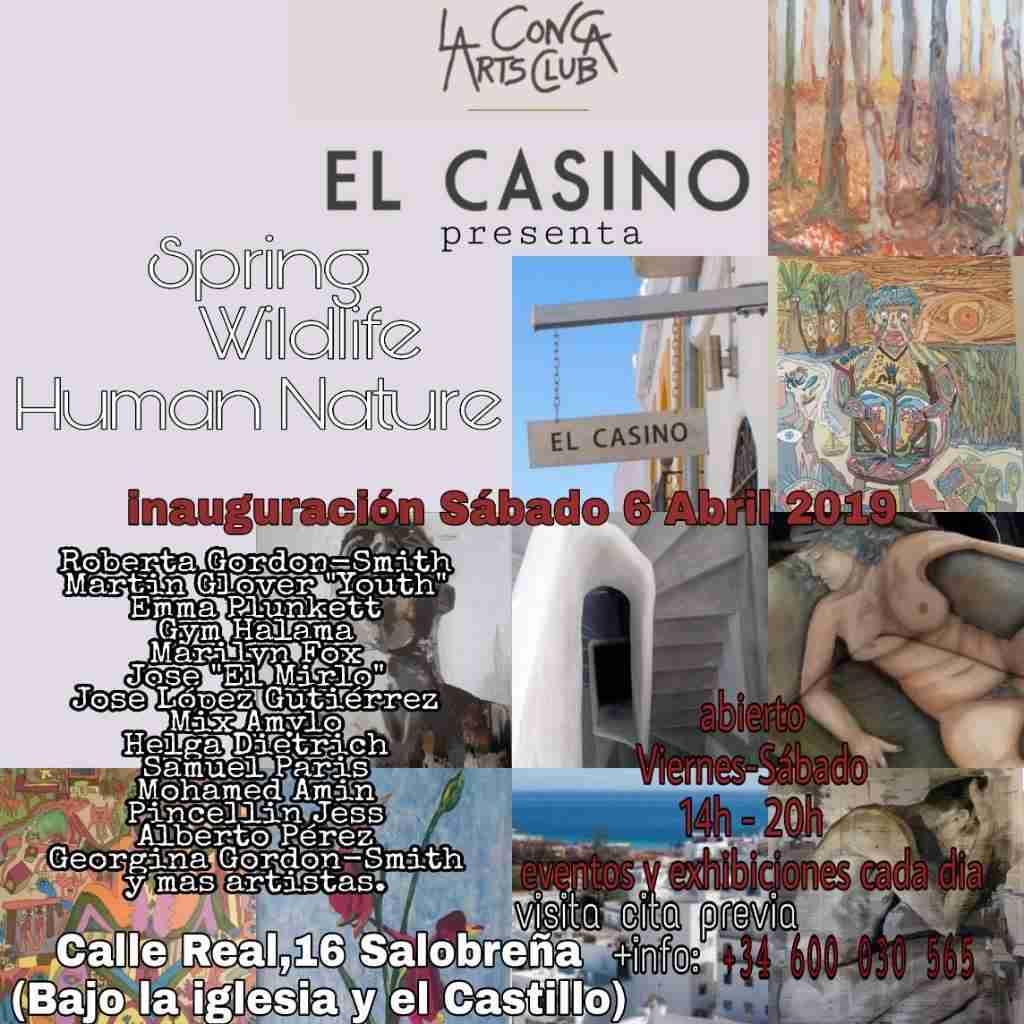 El Casino art invite