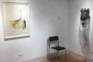 Jardin Nazari, sala de exposiciones, arte de Emma Plunkett y Jessica Sheherd