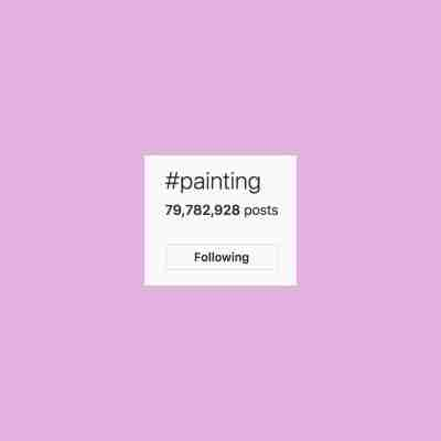 art marketing tips - hashtags