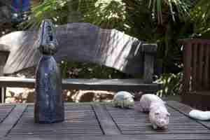 Kitty Harri sculpture garden