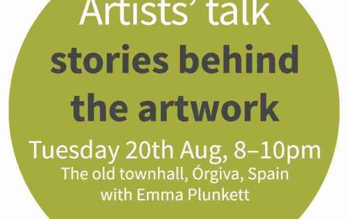 art talk in Orgiva