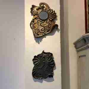 Ceramic wall art by Emma Plunkett