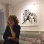 Zebra art by Michael Alexander