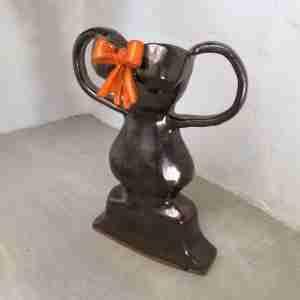 Trophy ceramic sculpture by Emma Plunkett